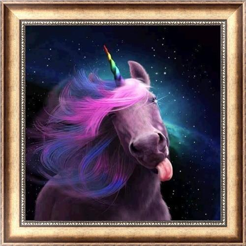 2019 5d DIY Diamond Painting Kits Dream Unicorn VM6207