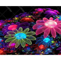 5D Diy Diamond Painting Embroidery Art Kits Light Flower VM90529