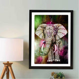 Hot Sale Special Colorful Elephant 5d Diamond Painting Diamond Embroidery VM1045 (1766933266522)