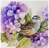 2019 5D DIY Diamond Painting Embroidery Arts Kits Bird Flowers VM92042