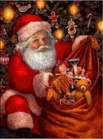 2019 5D Diy Diamond Painting Kits Santa Christmas VM7578