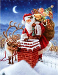 2019 5D Diy Diamond Painting Kits Santa Christmas VM7574