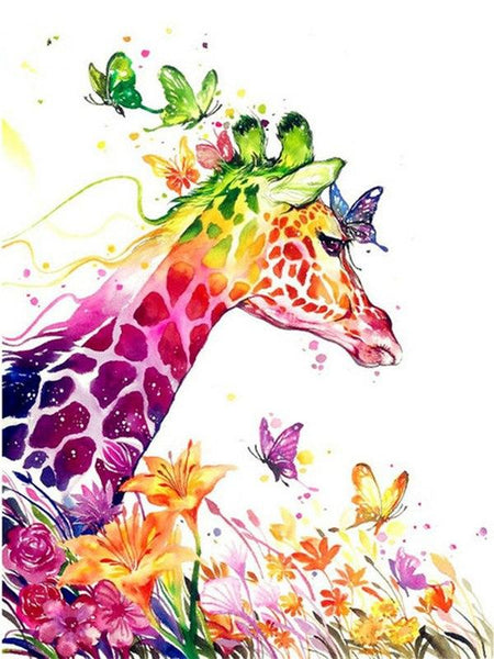 Dream Full Square Drill Giraffe 5d Diy Cross Stitch Diamond Painting Kits NA0485