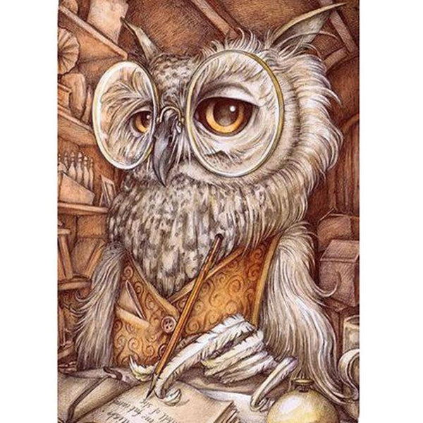 5D DIY Diamond Painting Owl Kits Cartoon Funny Animal  VM90729