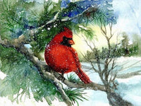 2019 Art Diamond Painting Kits New Snow Bird VM8561