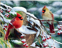 2019 Art Diamond Painting Kits New Snow Bird VM8562