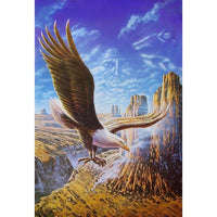 5D DIY Diamond Painting Cross Stitch Mosaic Flying Eagle VM90381