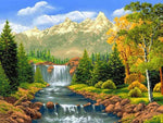 2019 5d Diy Diamond Painting Landscape Kits VM3586