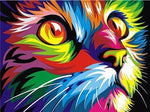 Hot Sale Special Colorful Cat 5d Diy Diamond Painting Kits VM4184 (1767046643802)