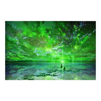 2019 5D DIY Diamond Painting Green Magic Night VM1164