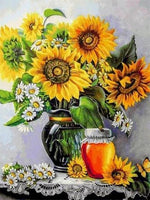 2019 5d Diy Diamond Painting Kits Oil Painting Style Sunflowers VM91936