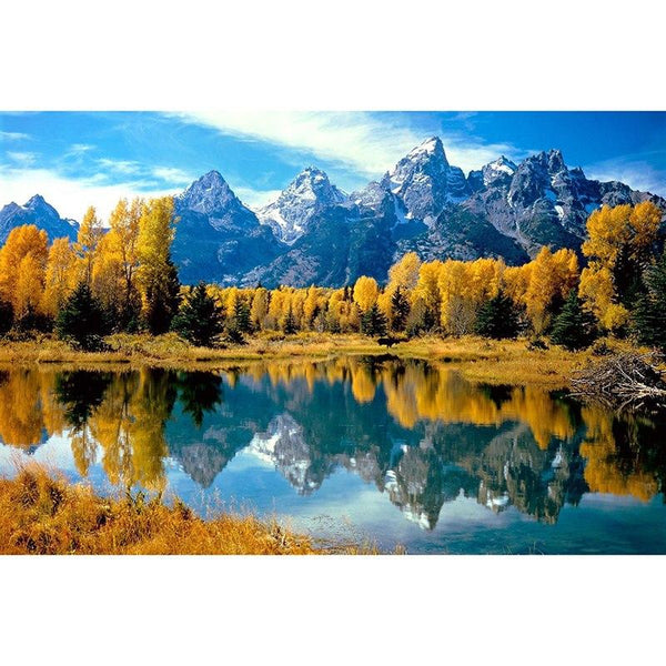 5D DIY Diamond Painting Landscapes Scenic Cross Stitch Mosaic VM92086