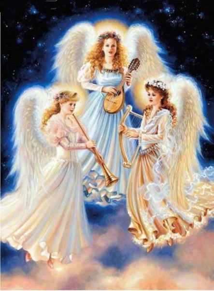 5d Diy Diamond Painting Kits Angel Wings Fairy Dream VM9241