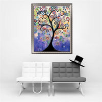 2019 5D Diy Diamond Painting Kits  Cartoon Tree  VM9424