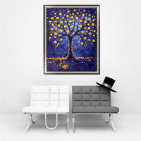 2019 5d Diy Diamond Painting Kits Cartoon Color Tree VM9416