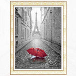 Modern Art New Arrival Landscape Eiffel Tower 5d Diy Diamond Painting Kits VM9408