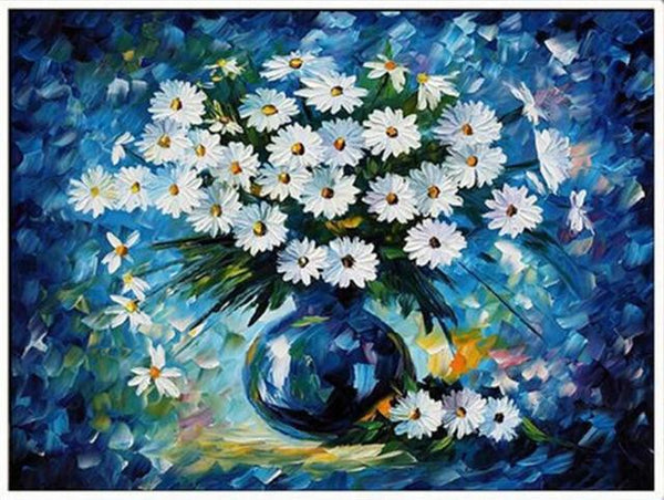 2019 5d Diy Diamond Painting Kits Oil Painting Style Colorful Flowers VM3538 (1766996770906)