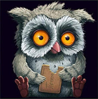 2019 5d Diy Diamond Painting Kids Kits Popular Funny owl VM3546 (1766997852250)