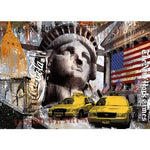 2019 5D Diy Diamond Painting Kits Cross Stitch New York City VM90301