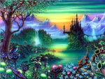 Fantasy Dream Landscape Nature Wall Decor 5d Diy Diamond Painting Kits VM7880