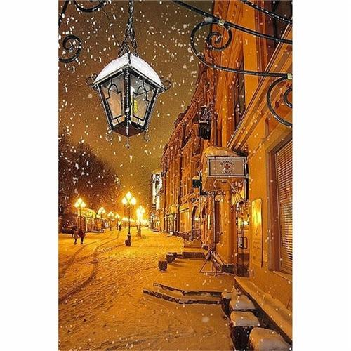 2019 5d Diy Diamond Painting Kits Landscape Street VM9462