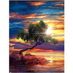 2019 5d Diy Diamond Painting Kits Landscape Mountain Tree VM92465