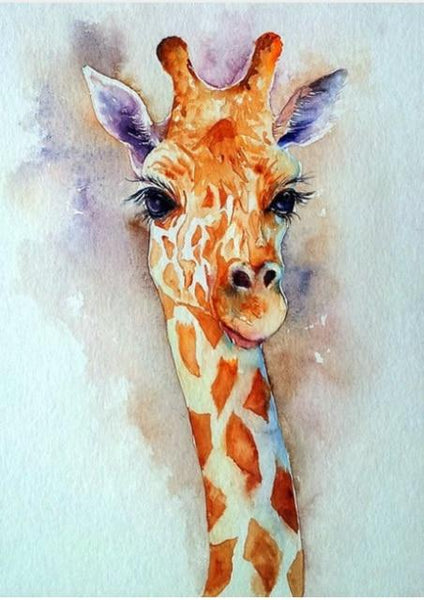 5d Picture Oil Painting Style New Arrival Giraffe Diy Diamond Painting Cross Stitch VM9043