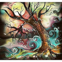 2019 5d Diy Diamond Painting Kits Fantasy Tree By The River VM8920