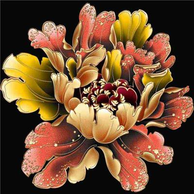 5d Diy Diamond Painting Kits Special Colorful Flower Pattern VM7339