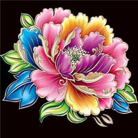 5d Diy Diamond Painting Kits Special Colorful Flower VM7338