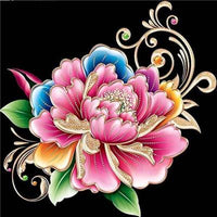 5d Diy Diamond Painting Kits Special Colorful Flower Pattern  VM7342