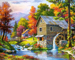 New Arrival Hot Sale Village Decor House 5d Diy Diamond Painting Kits VM9660