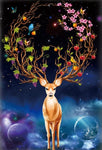 5d Diamond Art Bedazzled Dream Deer Diy Diamond Painting Set VM7758
