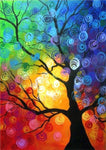 2019 5d Diy Diamond Painting Kits Dream Colorful Tree VM09421