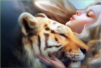 2019 5d Diy Diamond Painting Kits Tiger Beauty And Animals VM4047 (1767028064346)