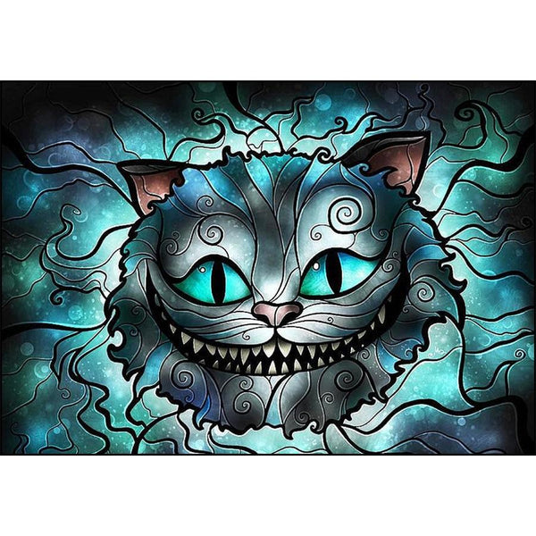 2019 5D DIY Diamond Painting Cartoon Cat VM3702 (1767012859994)
