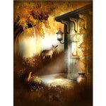 Fantasy Dream Magic Garden Scenery 5d Diy Diamond Painting Kits Magic VM3402 (1766990905434)