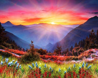 2019 5d Diy Diamond Painting Nature Landscape Kits  Colorful VM3580 (1767000735834)