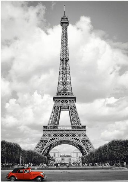 2019 5d Diy Diamond Painting Kits Art Landscape Eiffel Tower VM09218