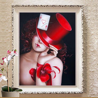 2019 5D Diy Diamond Painting Kits Girl Picture Wall Decor VM9490