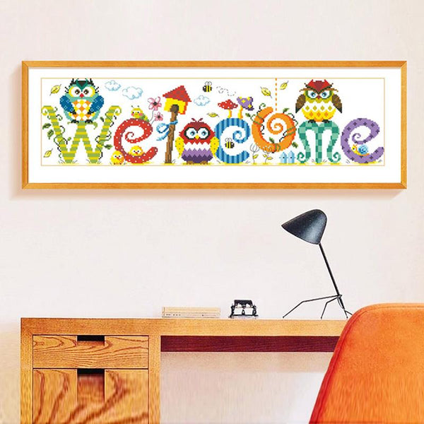 2019 5d Diy Diamond Painting Kits Cute Owl VM8145