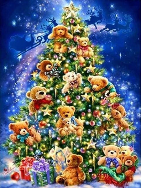 5d Diy Diamond Painting Kits Christmas Tree NA00412
