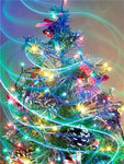 5d Diy Cross Stitch Diamond Painting Kits Christmas Tree NA0410