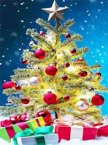 2019 5d Diy Diamond Painting Kits Christmas Tree NA0409