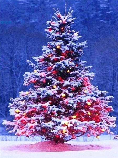 Hot Sale Christmas Tree 5d Diy Cross Stitch Diamond Painting Kits NA0411