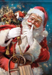 Hot Sale Special Full Drill Santa Claus 5d Diy Diamond Painting Kits NA10367