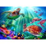 Dream Turtle 5D DIY Embroidery Cross Stitch Diamond Painting Kits NA0893