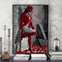 2019 5d Diamond Painting Red Series Picture VM81912
