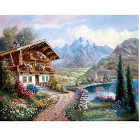 2019 5d Diy Diamond Painting Kits Landscape Nature Mountain VM4098 (1767037173850)