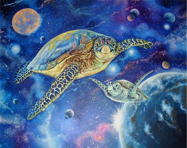 2019 5d Diy Diamond Painting Kits Turtle universe